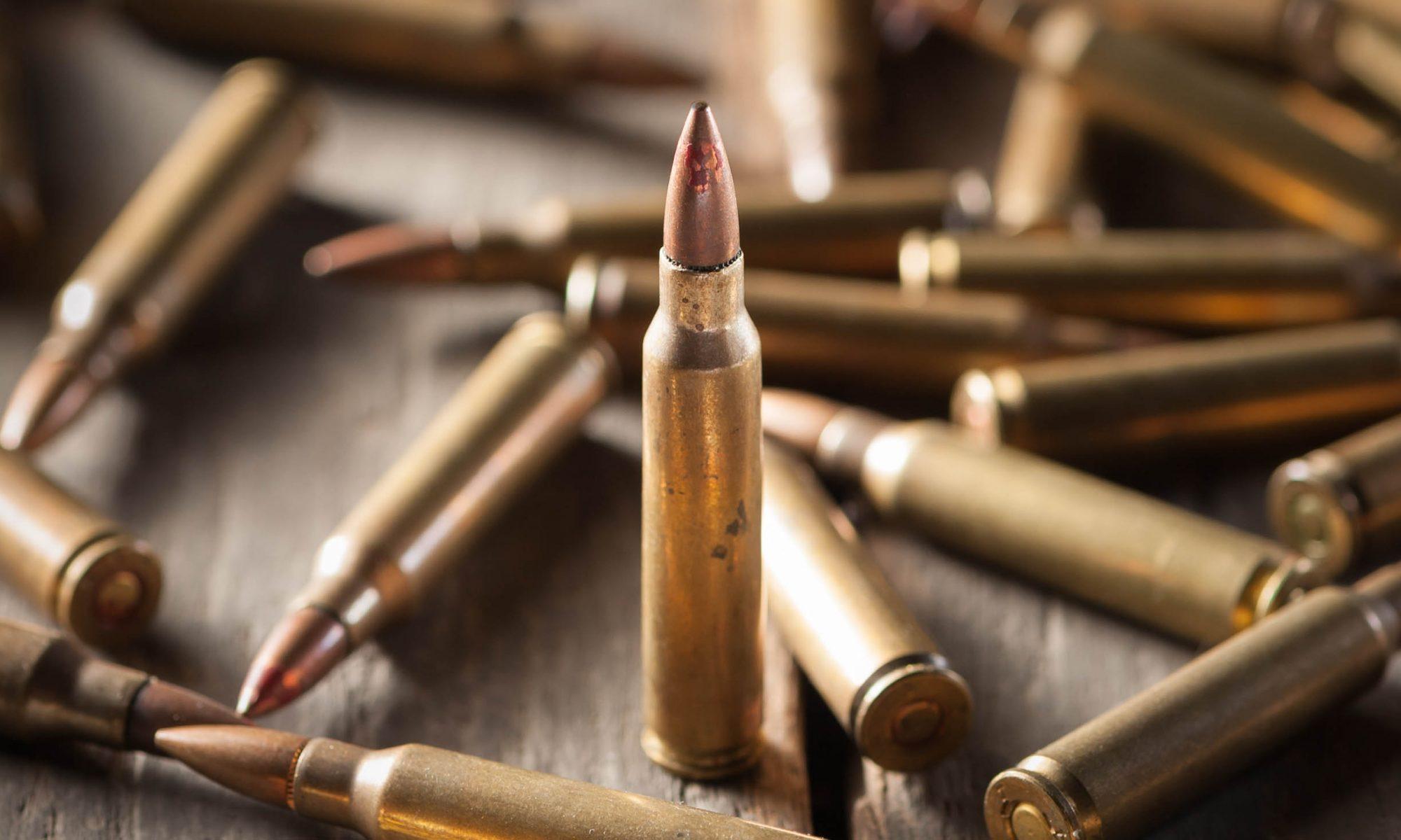 Zbrane, strelivo, montáže na zbrane